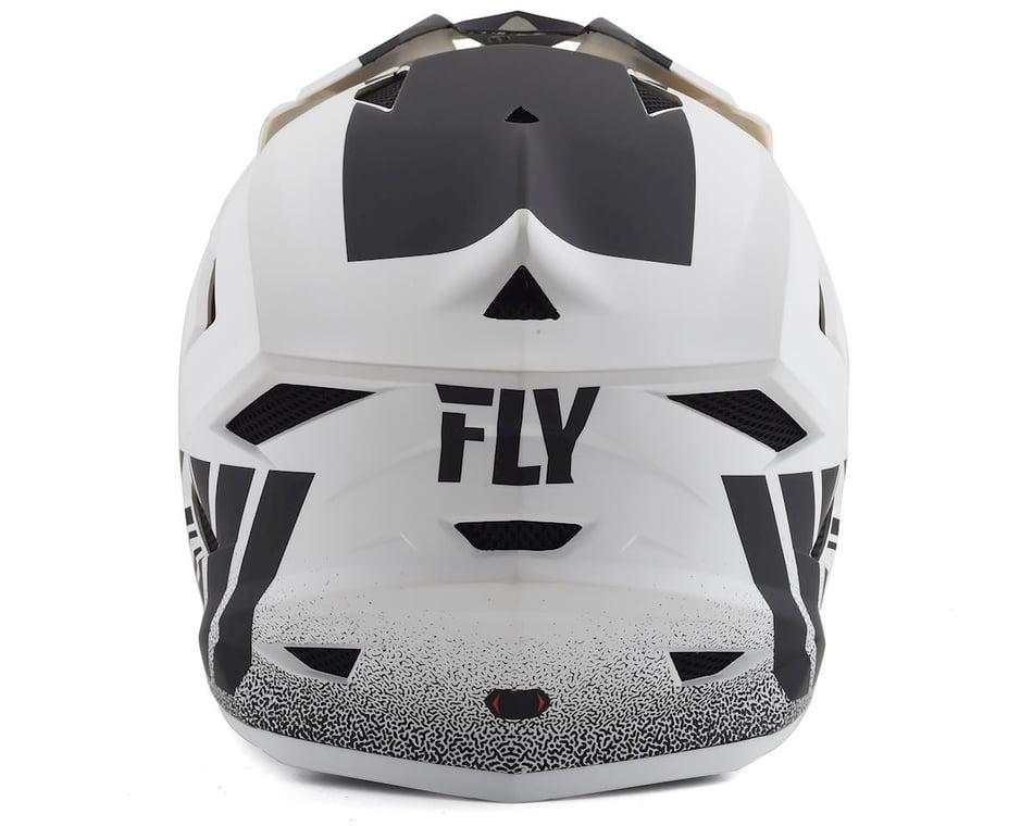 Fly Racing Default Full-Face MTB//BMX Helmet Large Matte White//Black