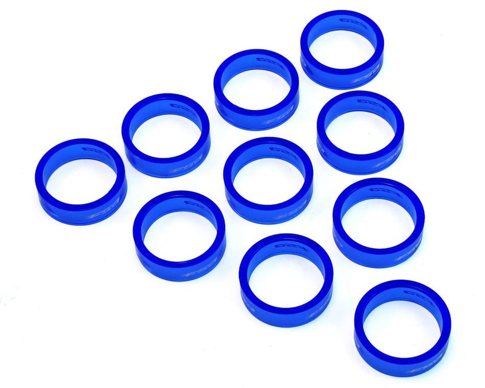 "1-1//8/"" x 10mm FSA PolyCarb headset spacer blue 10//bag"