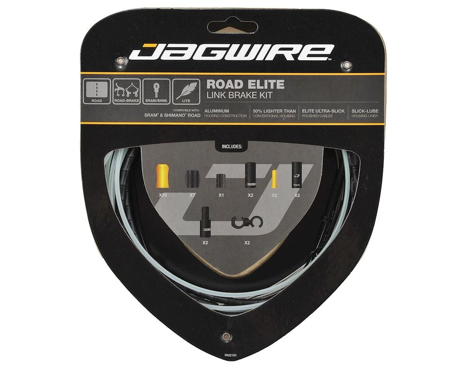 Housing Sold Separately Jagwire Stainless Steel Road Brake and Shifter Cable Set SRAM//Shimano