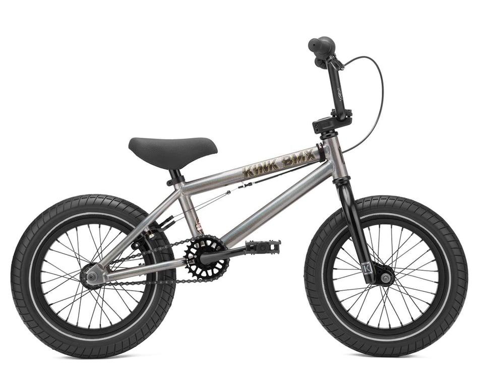 "14/"" Kids Bicycle Matte Digital Charcoal Kink BMX Pump 2021"