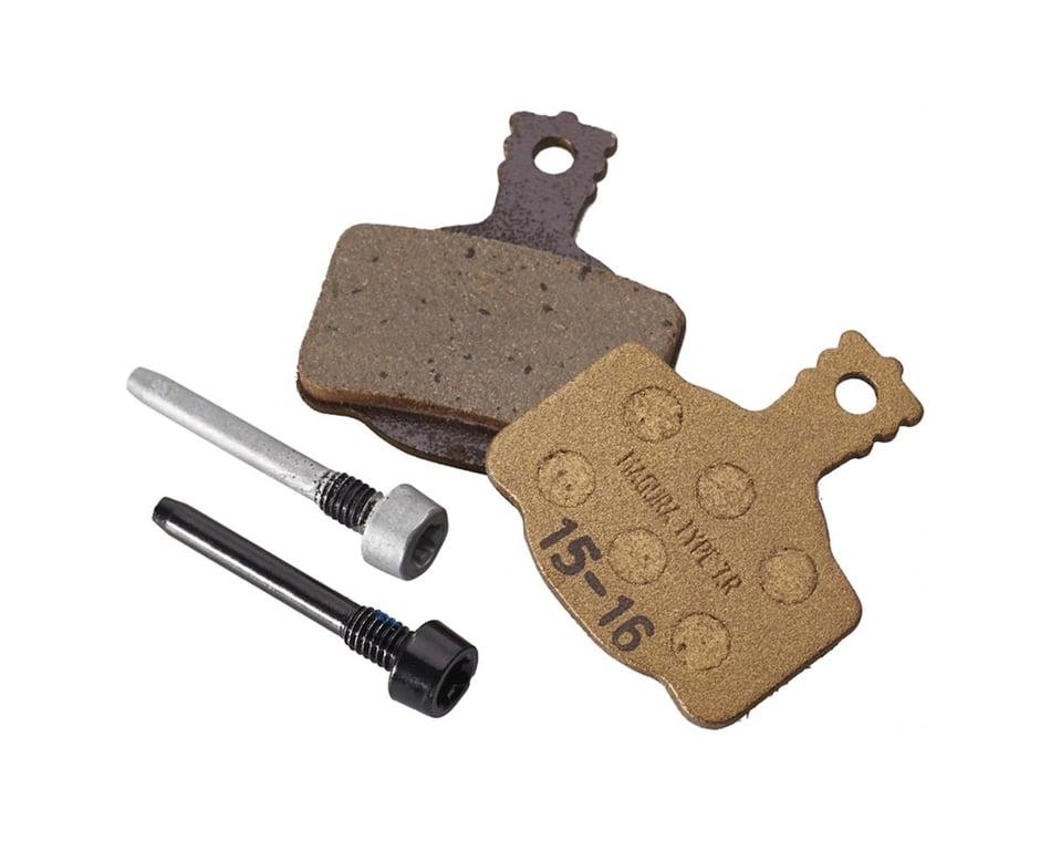 Bike brake pads organic for Magura All Series MT-2-4-5-6-7-8 Series 4 Pistons AM
