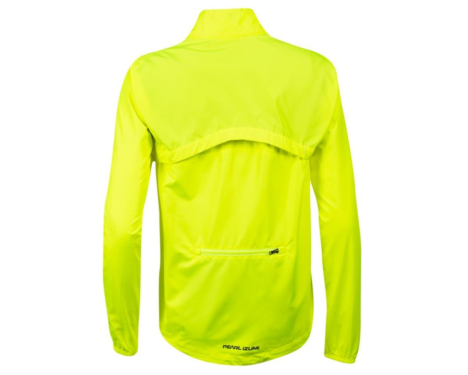 Screaming Yellow//Turbulence PEARL IZUMI Womens Quest Barrier Convertible Jacket L