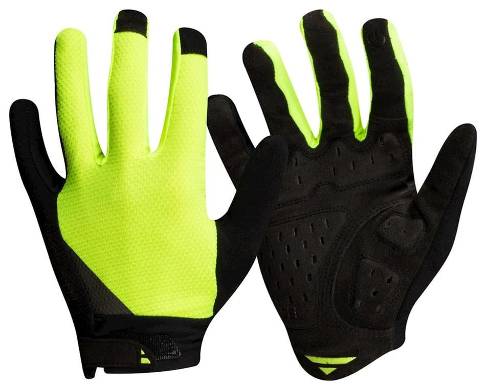PNK Summer Gel Cycle Gloves Touch Screen Full Finger Hi Viz Yellow XL