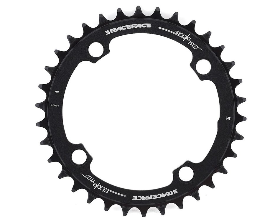 104mm BCD 34t Black RaceFace Narrow Wide Chainring