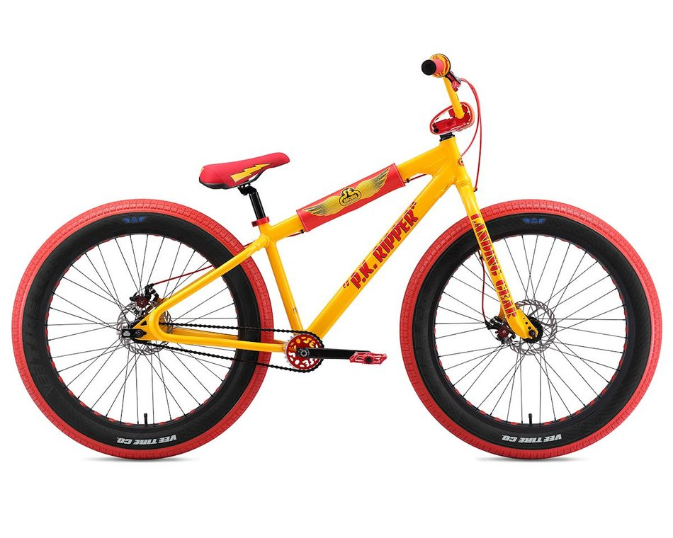 Se Racing Fat Ripper 26 Fat Bmx Bike Yellow 2691354926