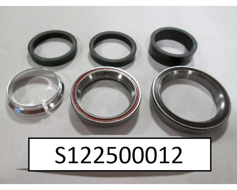 Specialized Shiv 1 1//8 Upper and Lower Headset Bearings and Spacers S122500011