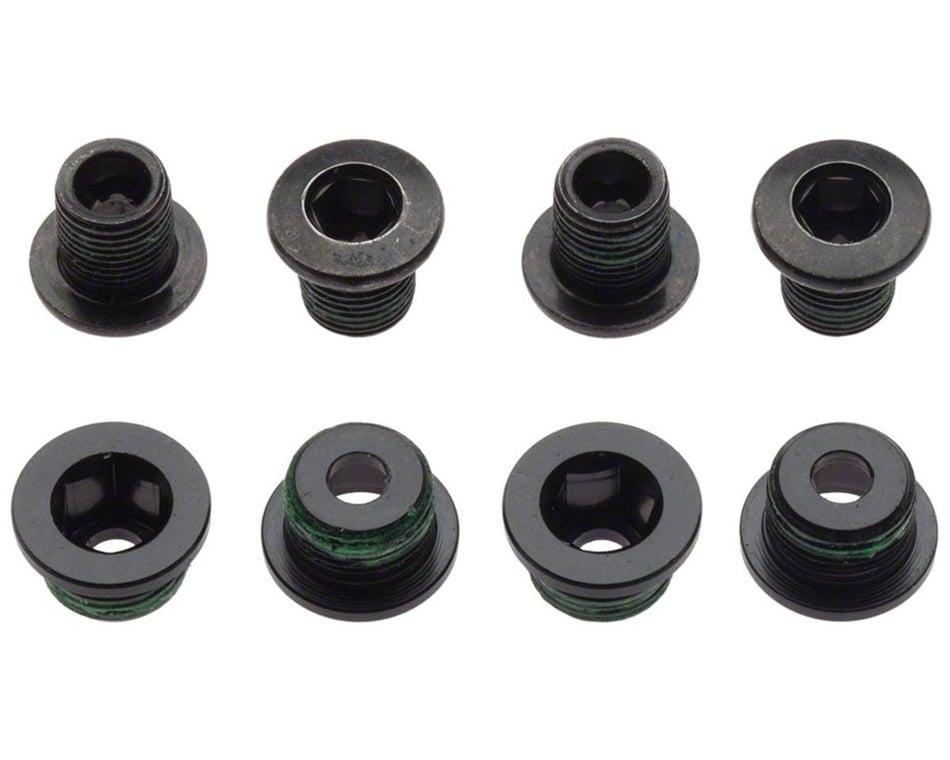 4-bolt Crankset Bolts MTB XC x4 Chainring Nut//Bolt set for HUPcc Cranks