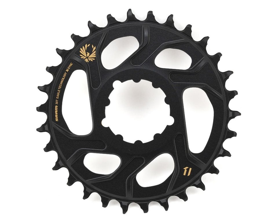 3mm Offset for Boost Black SRAM X-Sync 2 Eagle Direct Mount 30T Chainring