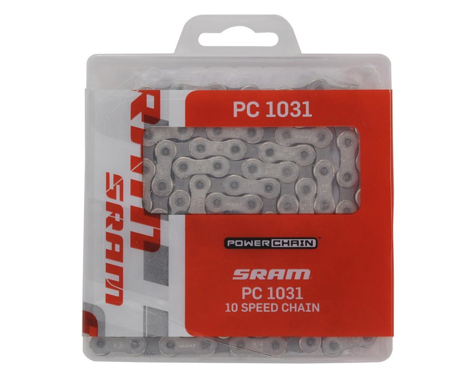 10-Speed SRAM PC-1031 Chain 114 Links PC-1031 Chain Chains Silver//Gray