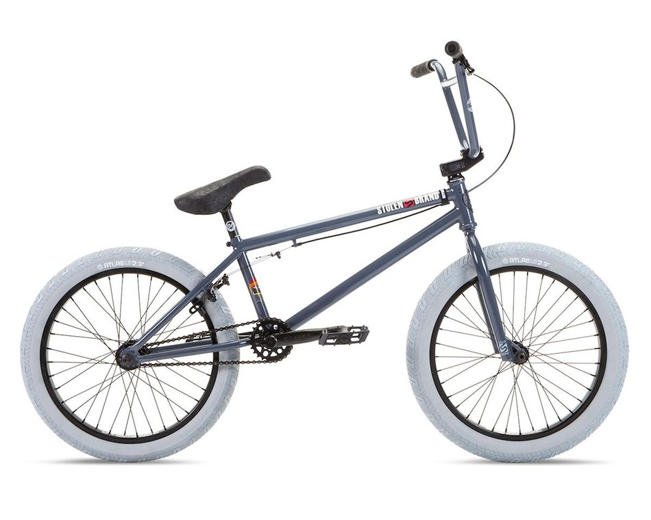 Stolen 2021 Heist 20 Bmx Bike 21 Toptube 2 Shades Of Grey S178 Bikes Dan S Comp
