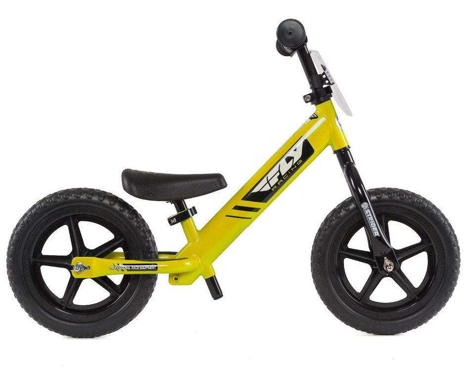 Strider Sports Fly Racing Balance Bike Yellow St Sc4fly Ye