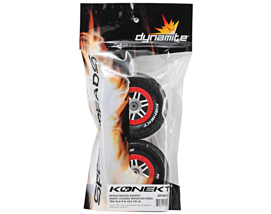 1//8 Buggy Foam Inserts Dynamite DYN8275 Speed Treads Triple Threat Tires 2