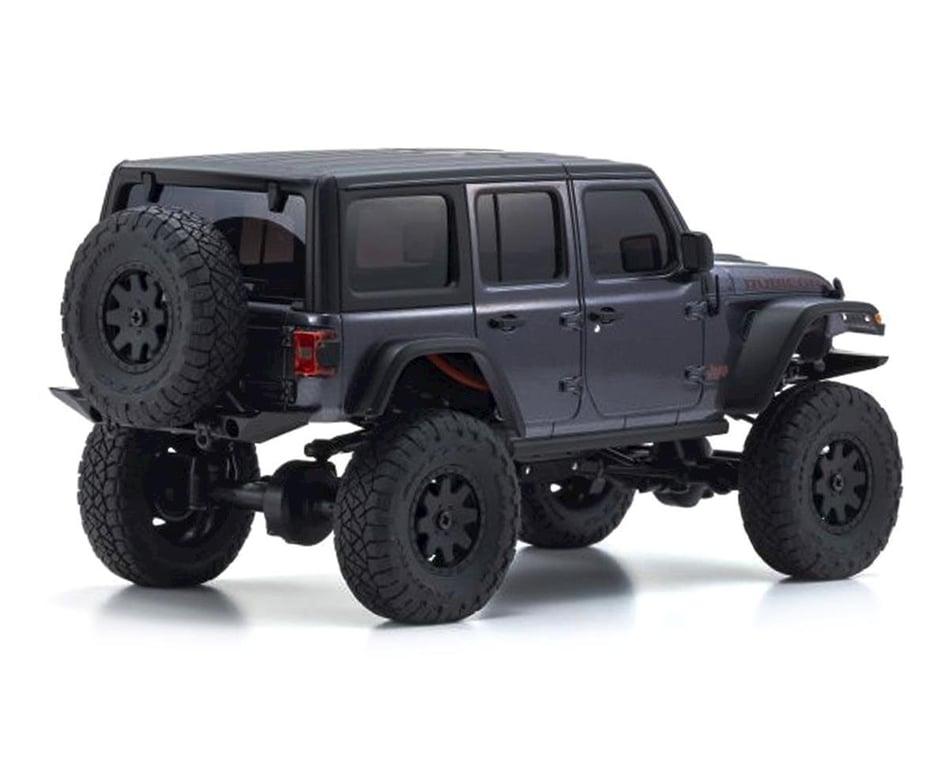 Kyosho Karosserie Jeep Wrangler Rubicon Mini-Z 4X4 MX01 ohne Lackierung KYOMXN01