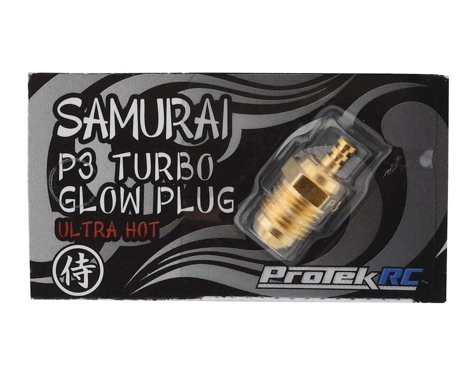 PTK-2630 ProTek RC Gold P3 Samurai Turbo Glow Plug Ultra Hot