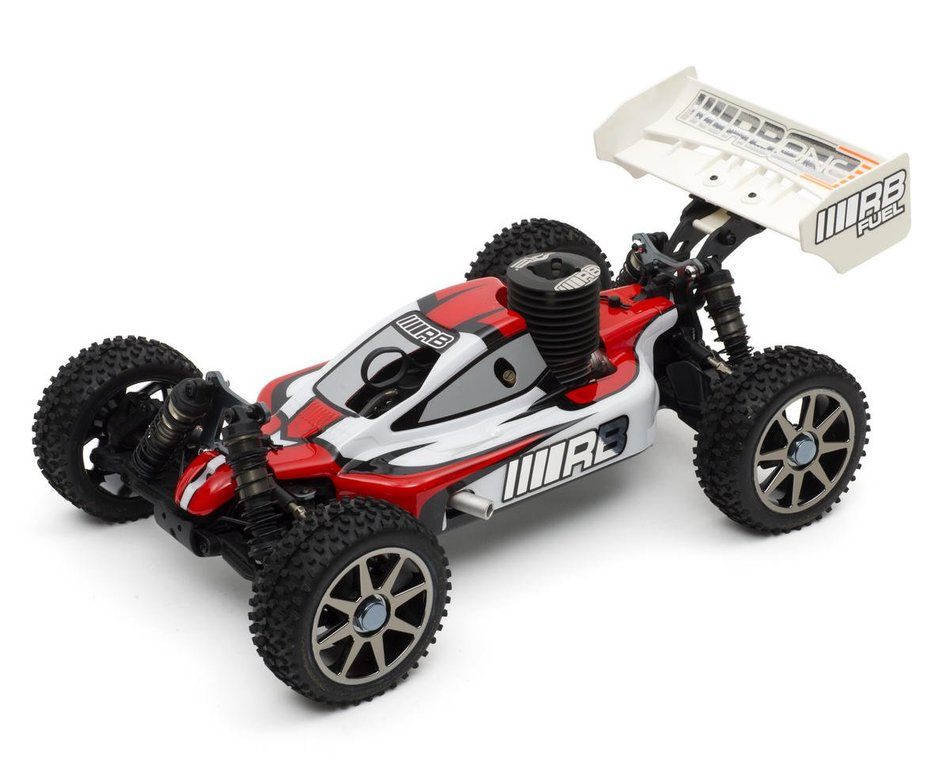 Rb Products Rb One Rtr 1 8 Scale Nitro Buggy W 2 4ghz Radio System Rbd0230002 Cars Trucks Amain Hobbies