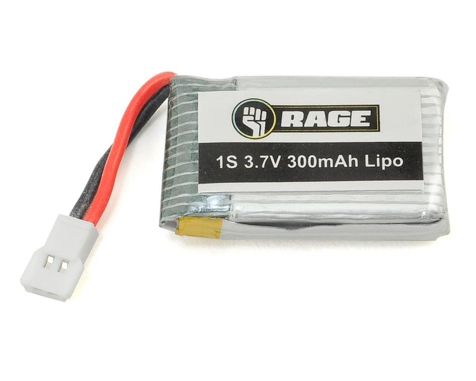 Rage Orbit 1s Lipo Battery 3 7v 300mah Rgr3060 Airplanes Hobbytown