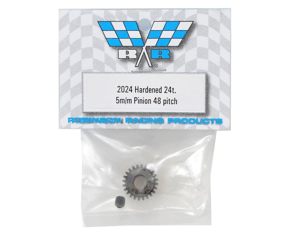 24T 5mm Bore # 2024 Robinson Racing 48-Pitch Pinion Gear