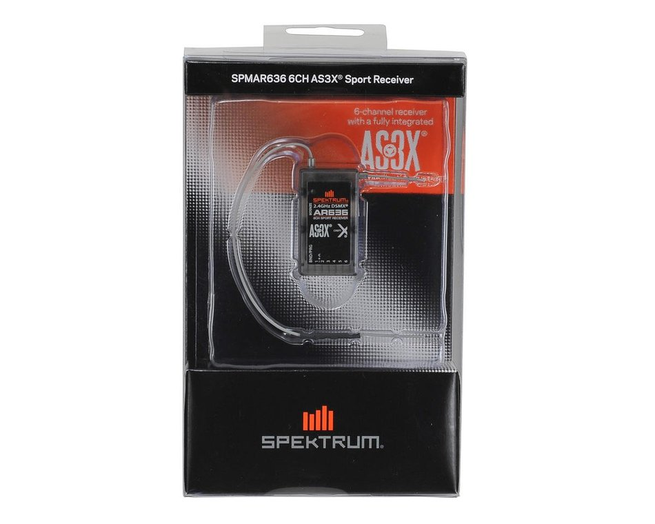 AR636 6-Channel AS3X Sport Receiver Spektrum SPMAR636