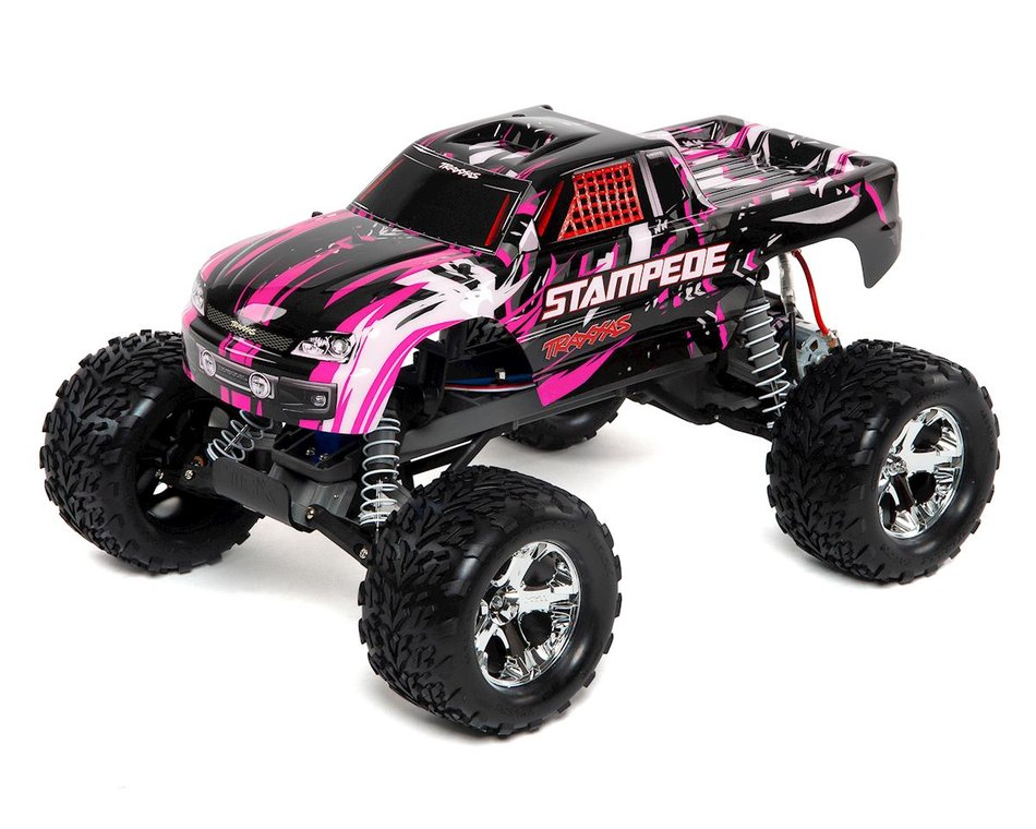 Traxxas Stampede 1 10 Rtr Monster Truck Pink Tra36054 1 Pinkx Cars Trucks Hobbytown