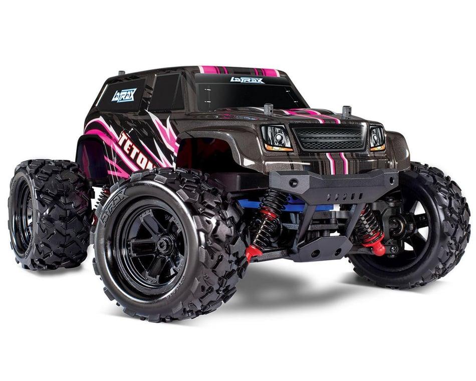 Traxxas Latrax Teton 1 18 4wd Rtr Monster Truck Pink Tra76054 5 Pink Cars Trucks Hobbytown