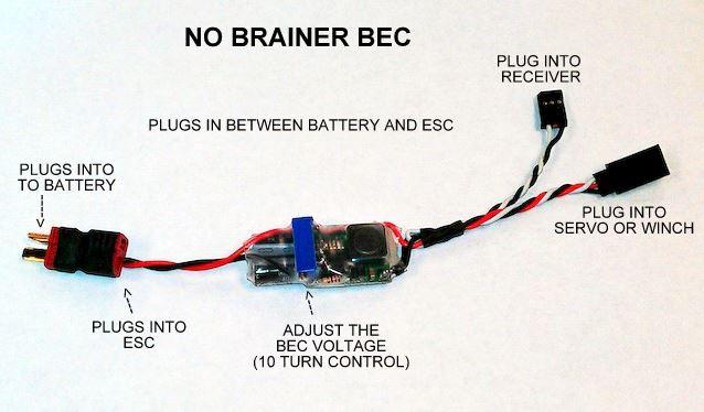 Nitro Servo Wiring - All Diagram Schematics