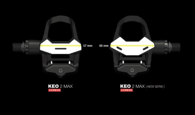 #00016090 Black LOOK Keo 2 Max Carbon Road Clipless Pedal