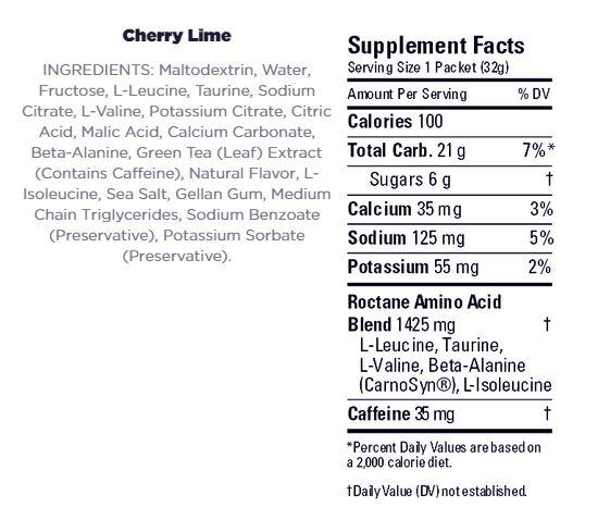 Roctane Cherry Lime