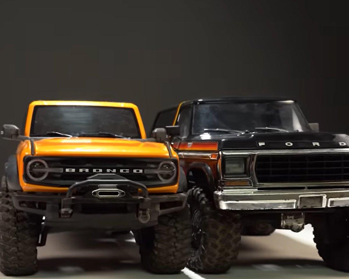 1979 vs 2021 Bronco comparison