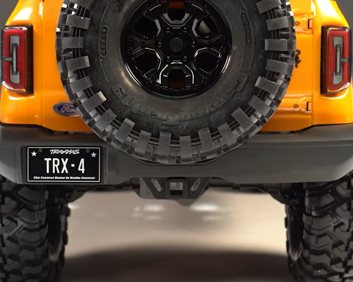 TRX4 Bronco rear bumper