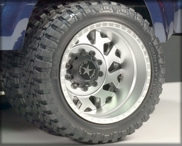 CEN Ford F-450 Wheels and Tires