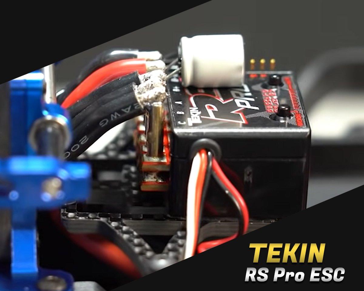 Tekin RS Pro Black Sensored Brushless ESC