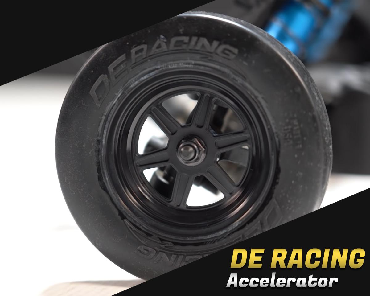 DE Racing Accelerator Drag Racing Front Tires w/Inserts (Clay) DER-ADF-C1