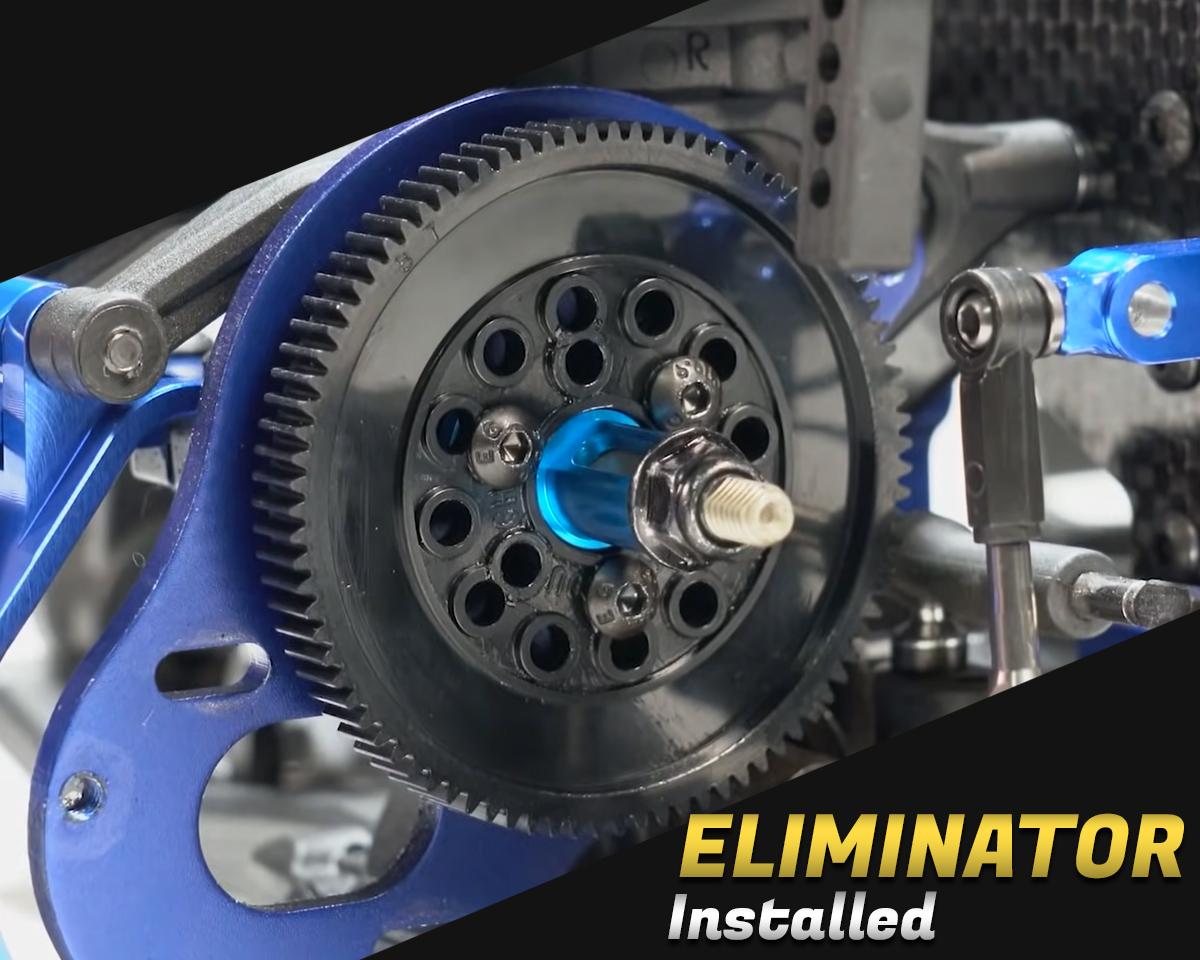 Spur Gear Eliminator Installed