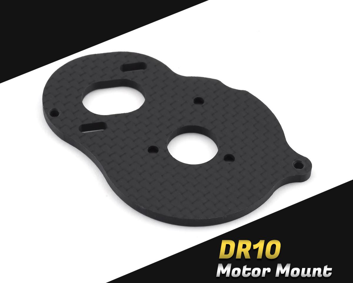 DragRace Concepts DR10 Carbon Fiber Motor Plate DRC-412