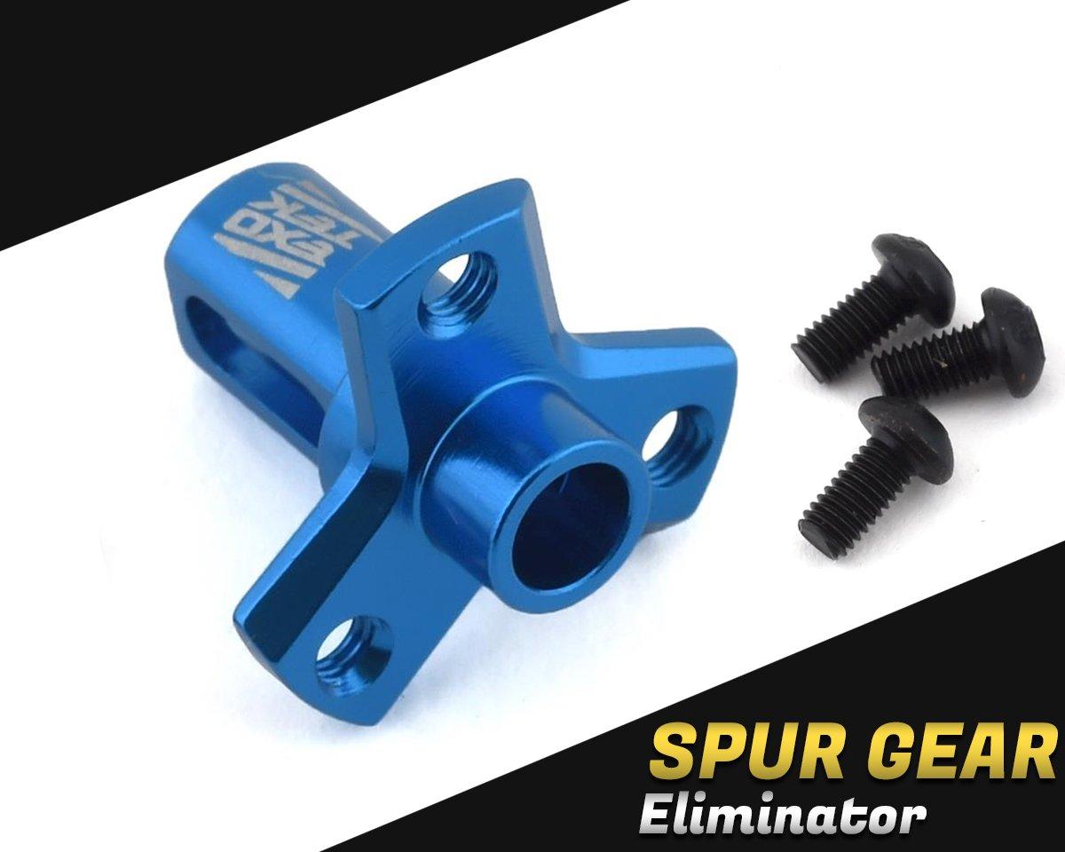 Exotek DR10/DB10/SC10 Eliminator Pro Spur Mount (Kimbrough/Exotek Spurs) EXO1942