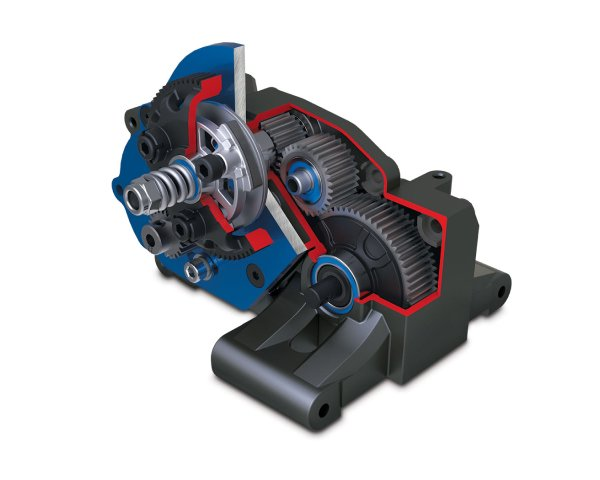 Gearbox cutaway