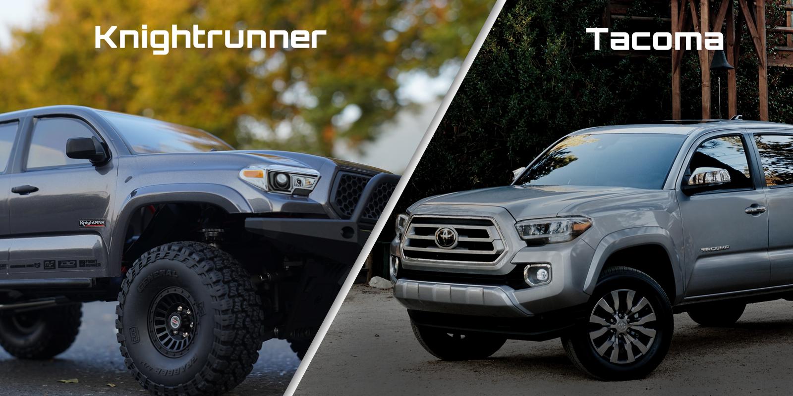 Knightrunner vs. Tacoma Comparison