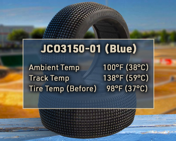 Blue Compound Tire Before