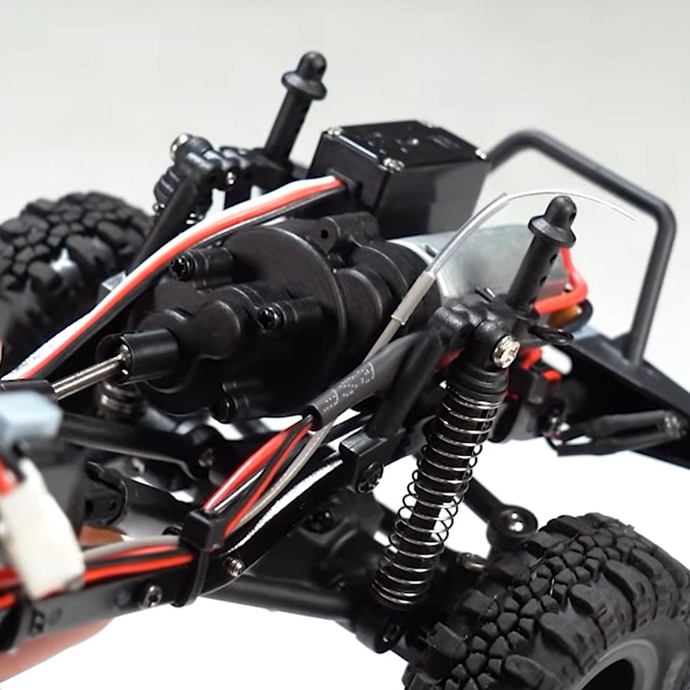 Element RC Enduro24 Forward Mounted Motor and Transmission