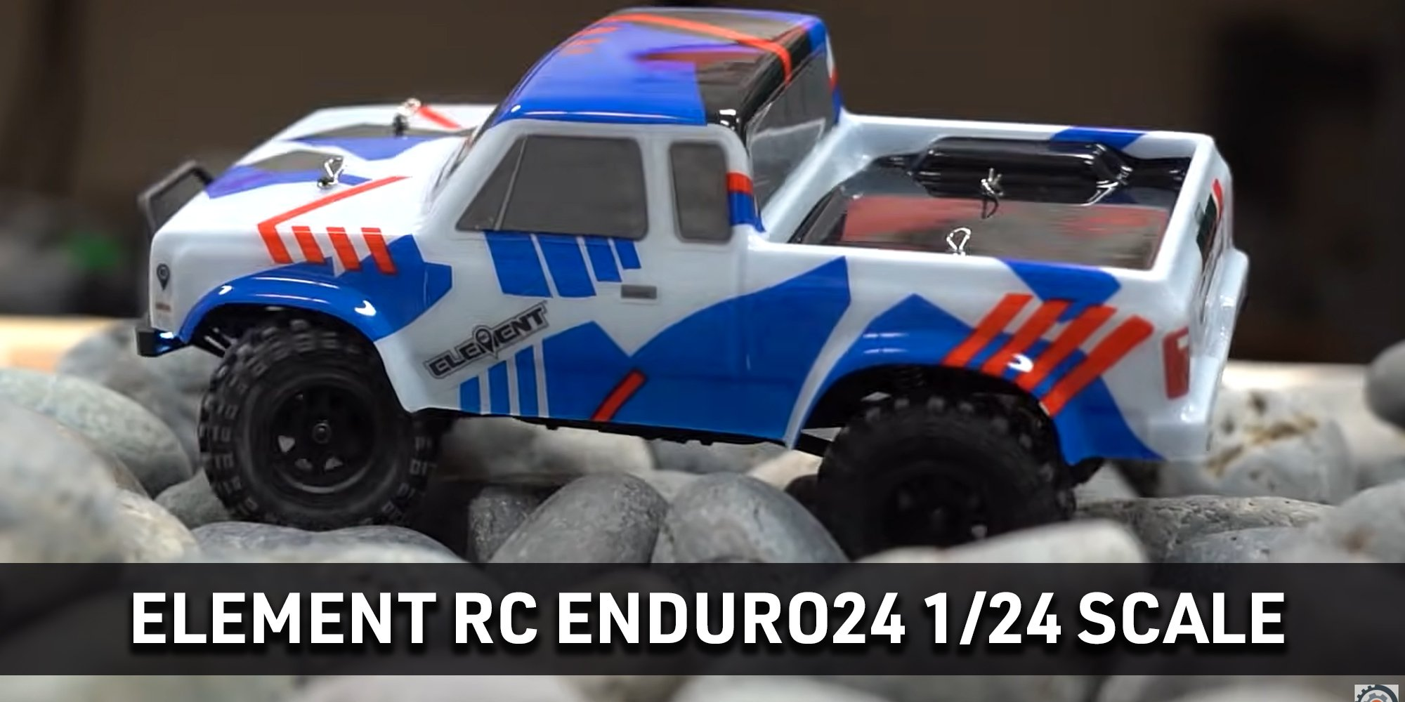 Element RC Enduro24 with Blue and Red Body