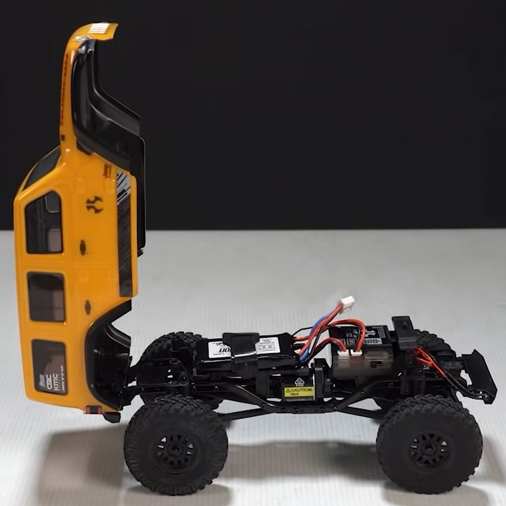 Axial SCX24 JLU Jeep Wrangler Access System