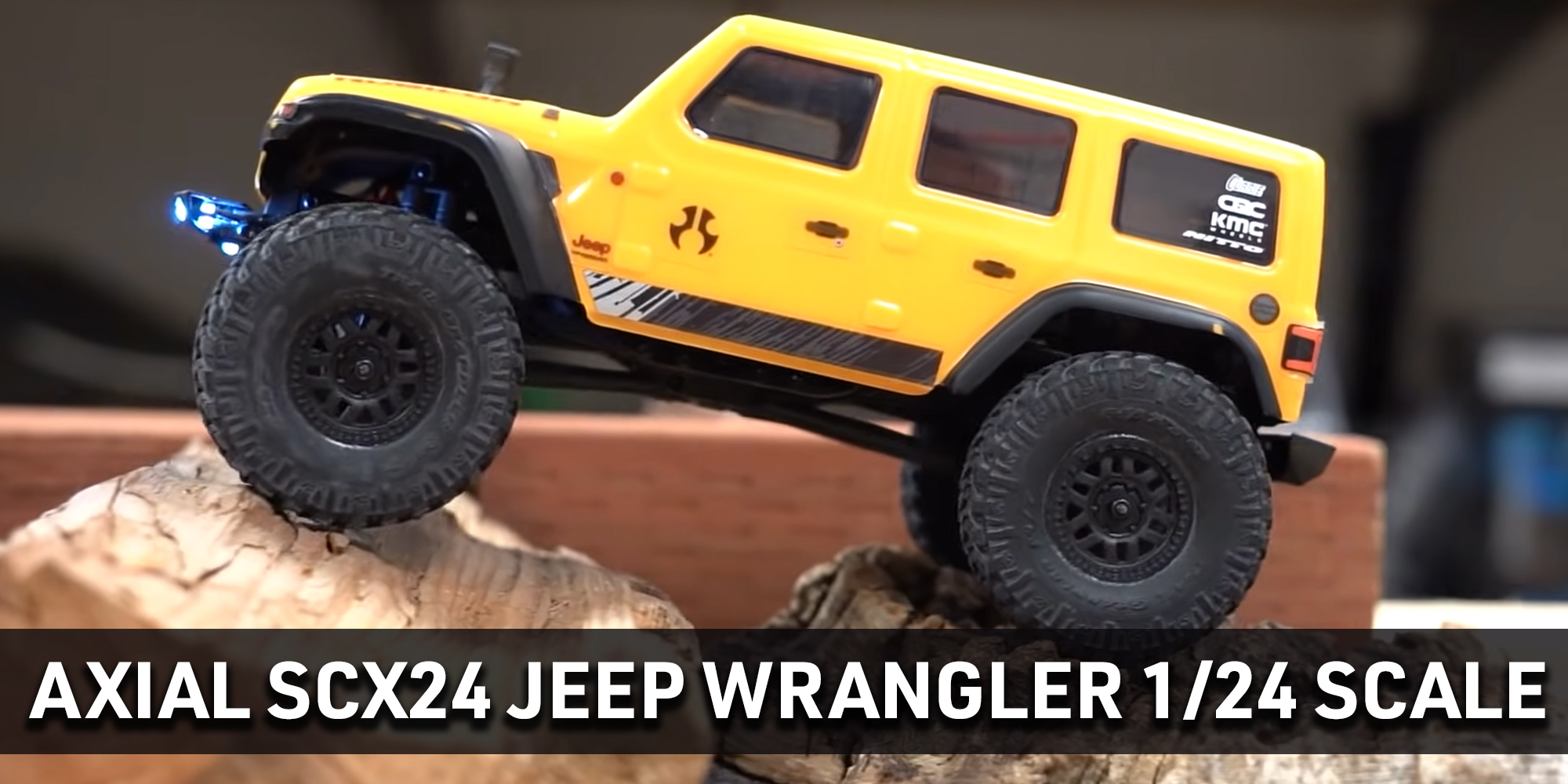 Axial SCX24 JLU Jeep Wrangler Body