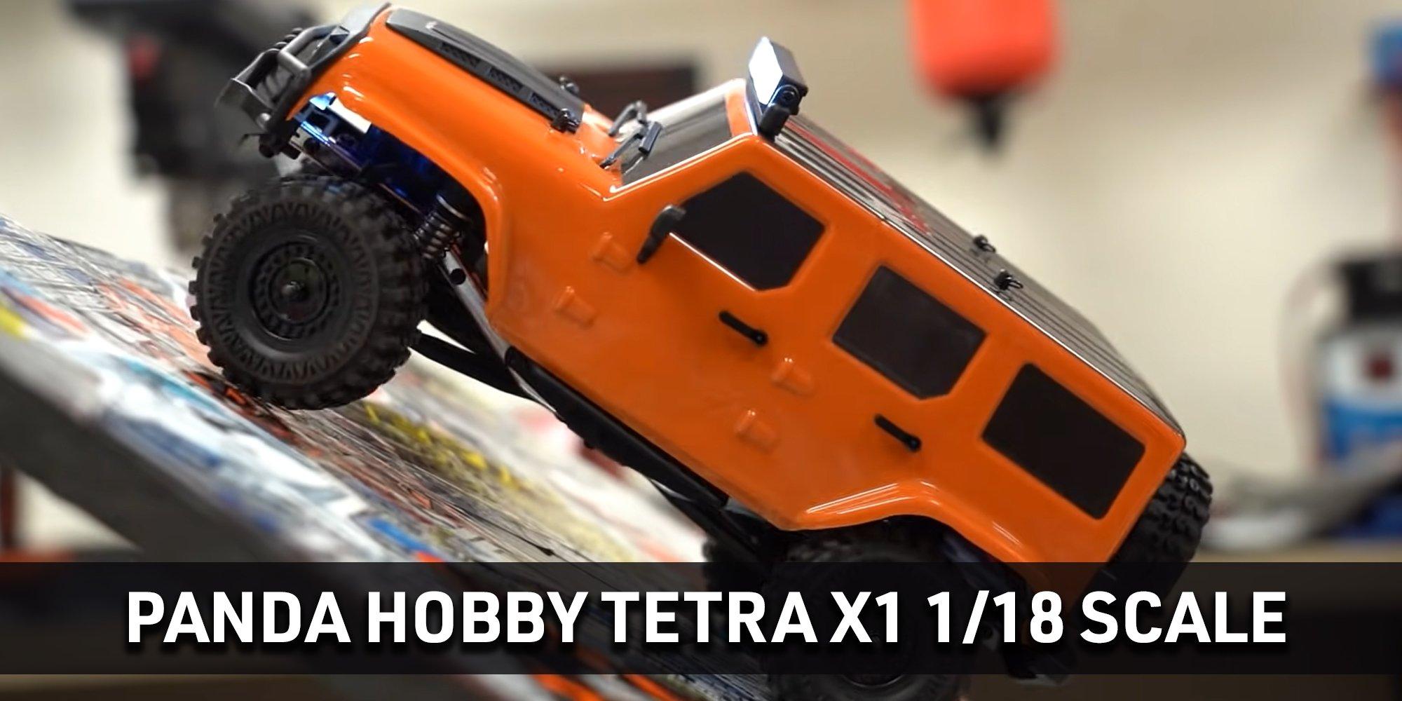 Panda Hobby Tetra X1 with Orange Body