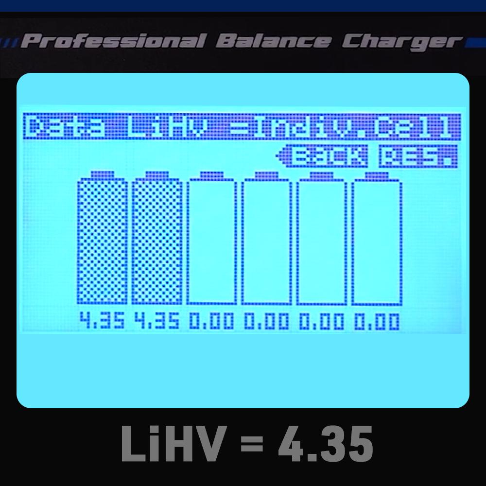 LiHV Charging