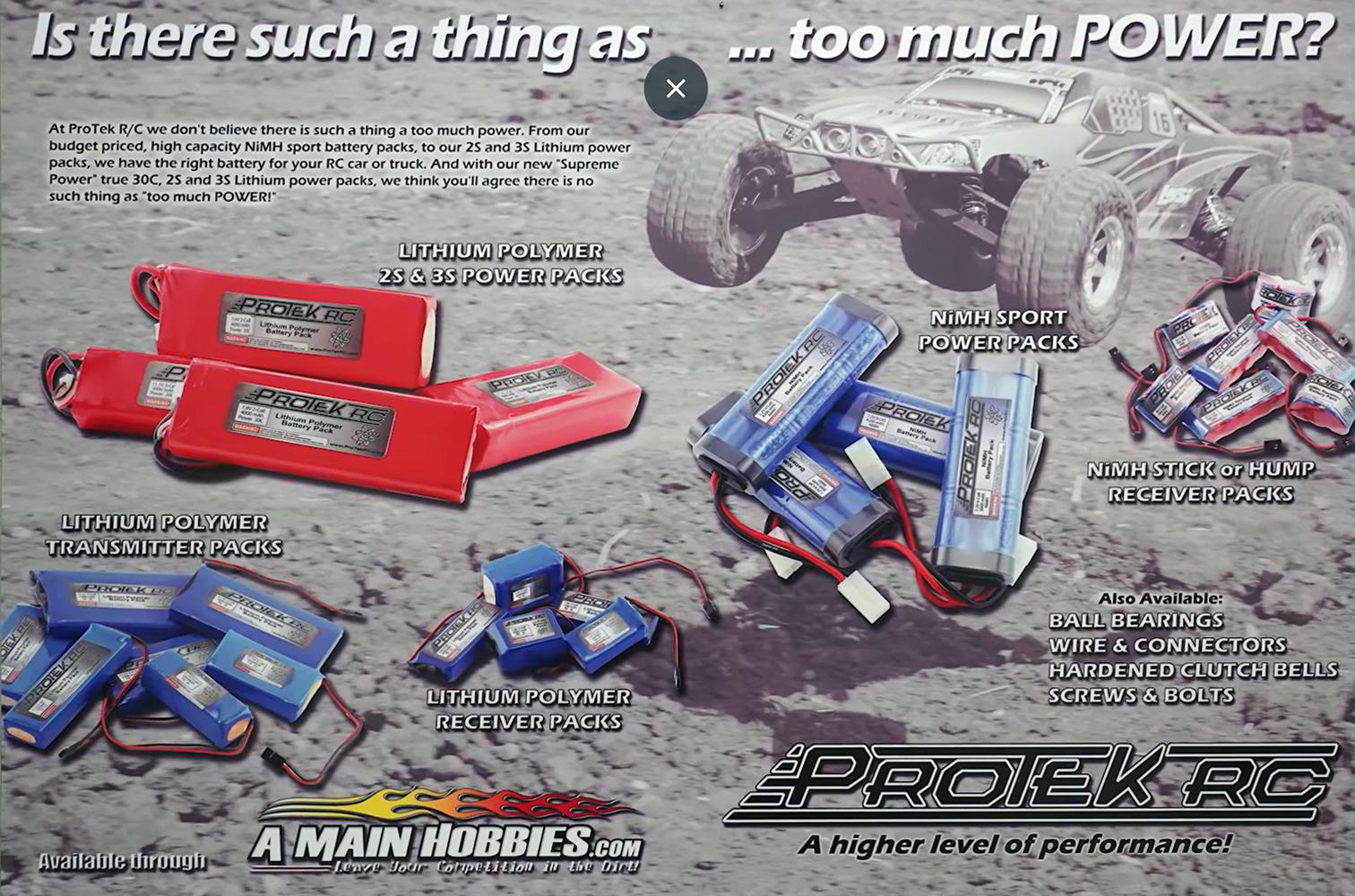Retro ProTek RC Advertisement