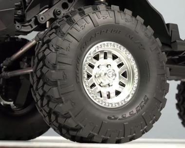 3-Piece Beadlock Wheels & Grappler Tires