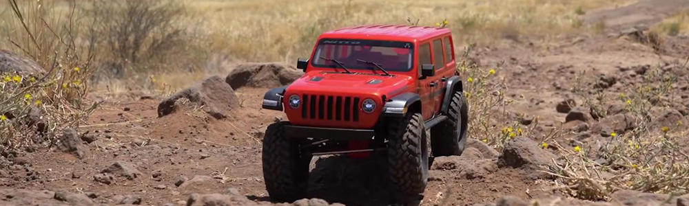 SCX10 III Hitting the Trail