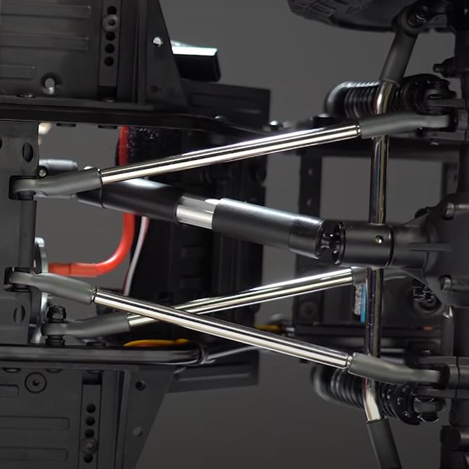 Front Axle 3-Link Suspension
