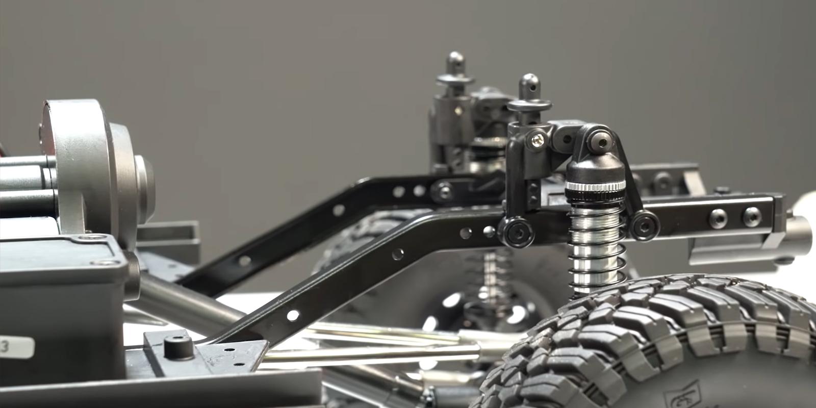 Rear Axle 4-Link Suspension