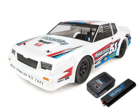 Team Associated SR10 RTR Brushless Dirt Oval Car Combo w/2.4GHz Radio, DVC, Battery & Charger
